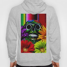 Day of the Dead Skull Hoody