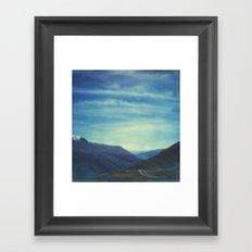 The Secret Pass Framed Art Print
