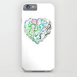 Heart Graphic by LH iPhone Case