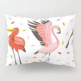 Flamingo Fam Pillow Sham