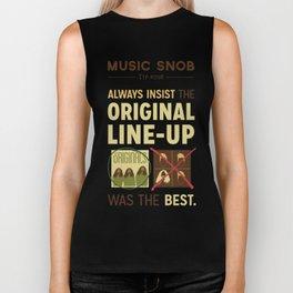 Original Line-up — Music Snob Tip #098 Biker Tank