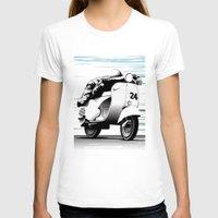 racing T-shirts featuring Racing by Don Paris Schlotman