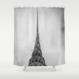 NYC Peaks Shower Curtain