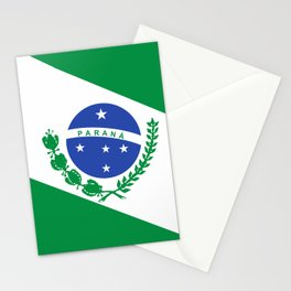 flag of Parana Stationery Cards