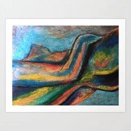 Natures Colours Art Print