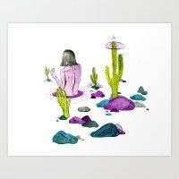 This Land Art Print