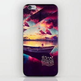 Explore More II - for iphone iPhone Skin