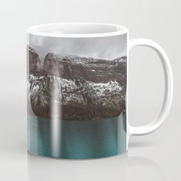 Landscape Maligne Lake Mountain View Photography | Alberta | Canada Coffee Mug