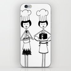 flappers baking iPhone & iPod Skin