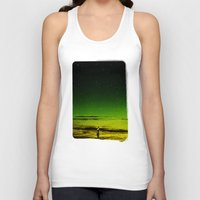 surfer Tank Tops featuring Lost Surfer Star Series by Stoian Hitrov - Sto