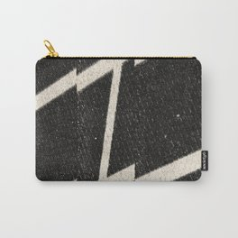 NOIR ABSTRACT / Steps 2 Carry-All Pouch