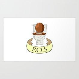P.O.S Art Print