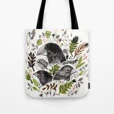 DARWIN FINCHES Tote Bag