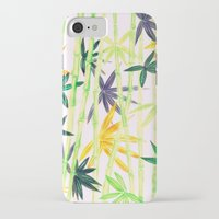 bamboo iPhone & iPod Cases featuring Bamboo by Federico Faggion