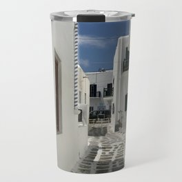 Grecian Alleyway Travel Mug