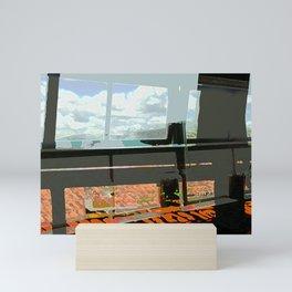 Screens and Tiles Mini Art Print