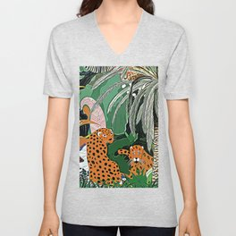 In the mighty jungle Unisex V-Neck