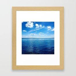 Blue Beauty Framed Art Print