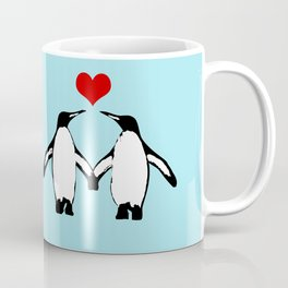Penguins in love Coffee Mug