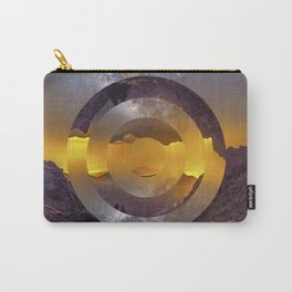 CIRCULAR LANDSCAPE Carry-All Pouch