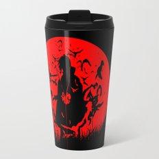 Red Moon Itachi Travel Mug