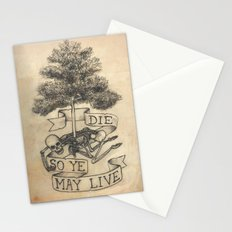 Die So Ye May Live Stationery Cards
