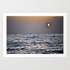 Key Sunset Art Print