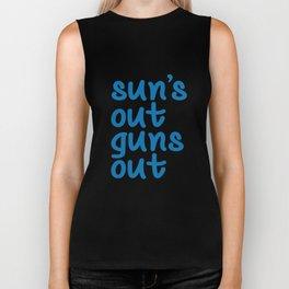 Sun's Out Guns Out Biker Tank