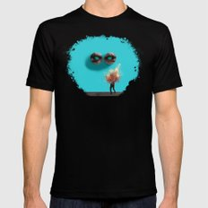 Stendhal Syndrome MEDIUM Mens Fitted Tee Black