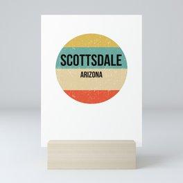 Scottsdale Arizona design   Scottsdale design Mini Art Print