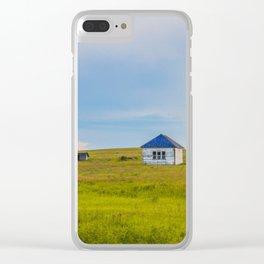 Palmgren Township School, North Dakota 10 Clear iPhone Case