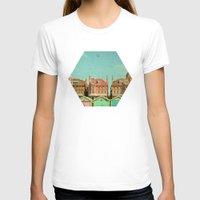 cassia beck T-shirts featuring Promenade by Cassia Beck