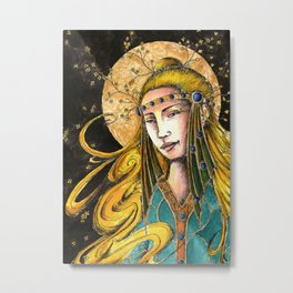 The ever young Metal Print
