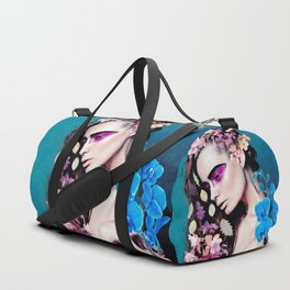 Depressed women Duffle Bag