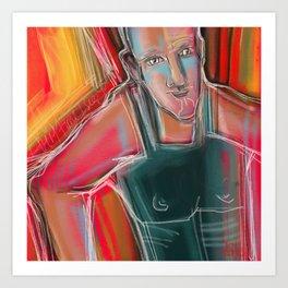 Colour Power Art Print