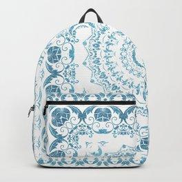 In Blue (Pattern Mandala) Backpack