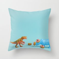 Ring Toss Throw Pillow