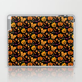 Halloween Mouse Ears Pumpkins MNSSHP Laptop & iPad Skin