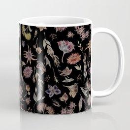 Botanical Study- Dark Colorway Coffee Mug