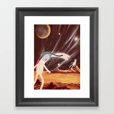 a l i e n Framed Art Print