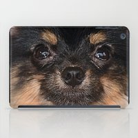 pomeranian iPad Cases featuring Pomeranian by Pancho the Macho