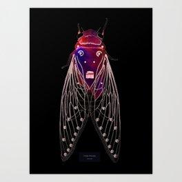 Cicadae Musicadae Art Print