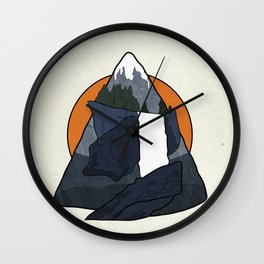 Vernal Falls  Wall Clock
