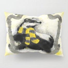 Hufflepuff Splatter Pillow Sham