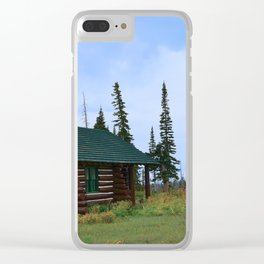 Let's Go Camping! Clear iPhone Case