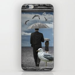 Weathering the Gulls iPhone Skin