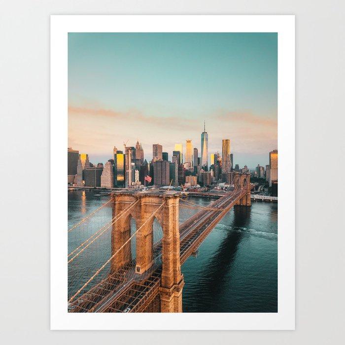 New York, New York Kunstdrucke