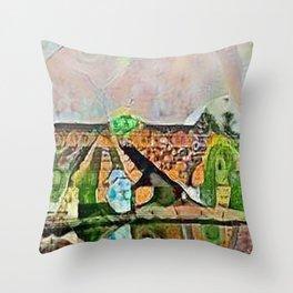Potsdam Park Sanssouci Throw Pillow