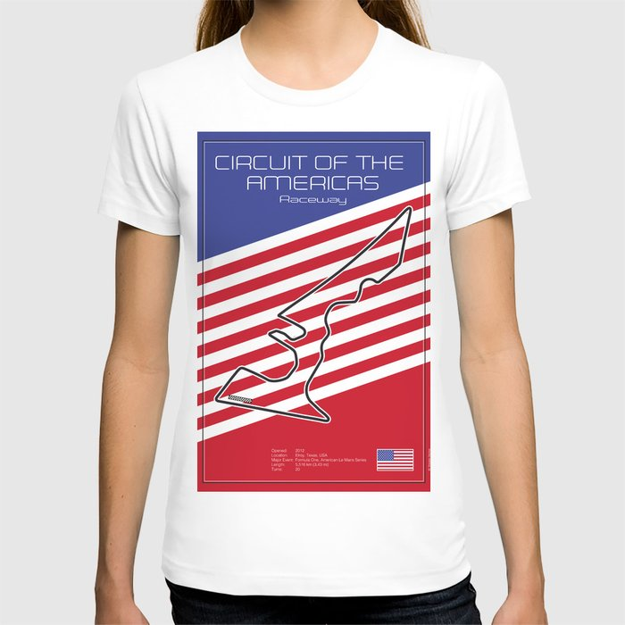 Circuit of the Americas, Austin Texas T-shirt