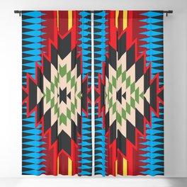 Navajo Pattern Five Blackout Curtain